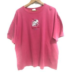 Tops - Rainforest Cafe Orlando Pink T Shirt Size Large